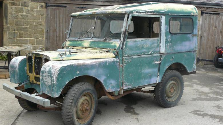 "LAND ROVER 80"" SERIES 1 FOR SALE IN YORKSHIRE"