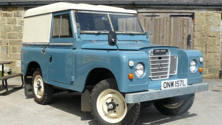 "land rover series 3 for sale , 88"" diesel 1973 | jake wright ltd"
