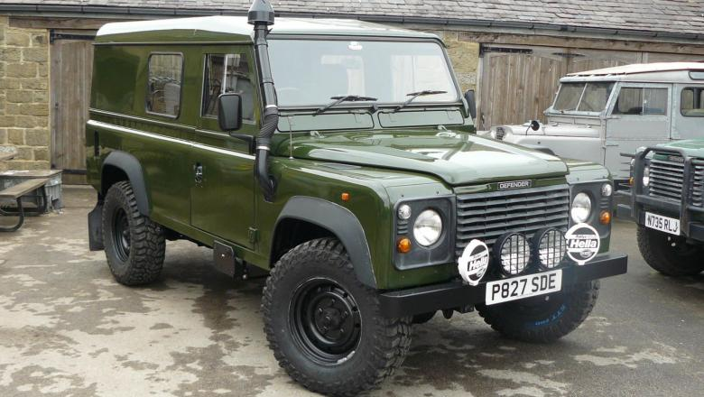 land rover defender 110 hardtop IN YORKSHIRE