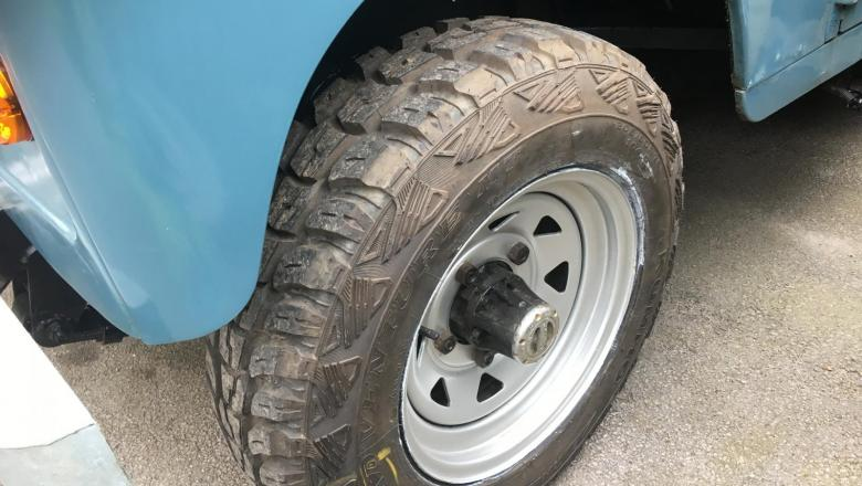 All tyopes of wheels and tyres can be fitted onto Land Rover's and we can advise on best choices