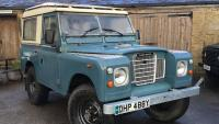Land Rover Series 3.