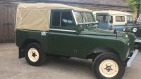 a land rover series 2 is for sale at jake wright