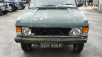 range rover classic 2 door before restoration